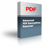 Advanced PDF Encryption Remover Product Box