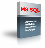Advanced Reliable Password Manager for SQL Server Product Box
