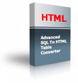 Advanced SQL To HTML Table Converter Product Box