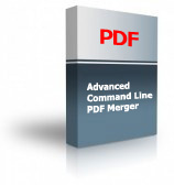 Advanced Command Line PDF Merger Product Box